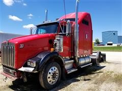 1996 Kenworth T-800 T/A Truck Tractor For Parts