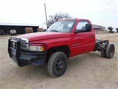 2001 Dodge Ram 3500 4x4 Dually Cab & Chassis