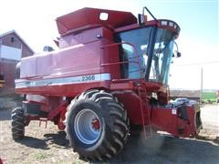 2001 Case International 2366 Axial Flow Combine