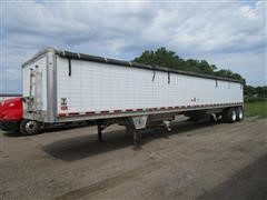 2011 Wilson DWH501 43' T/A Double Hopper Grain Trailer