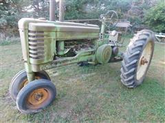 1951 John Deere B 2WD Tractor
