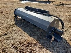Wolverine 6' Wide Tiller Skid Steer Attachment
