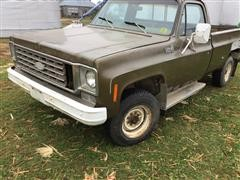 1976 Chevrolet Custom Deluxe 20 4x4 Pickup
