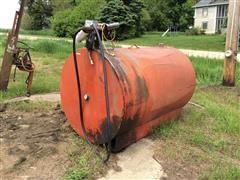 550 Gallon Fuel Barrel & Pump