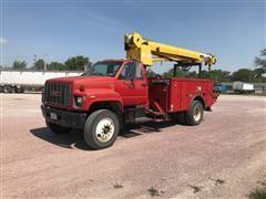1992 GMC TopKick S/A Digger Derrick Truck