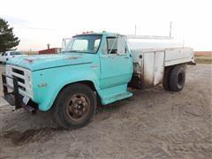 1974 Dodge D600 Fuel Truck