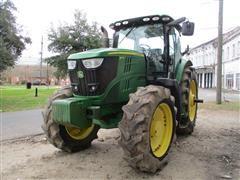 2012 John Deere 6170R MFWD Tractor