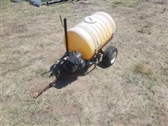 50 Gallon Gas Powered Pull Type Sprayer