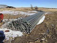 Irrigation Pipe With Sprinkler Heads