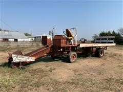 Kent Mat-Truc Self-Propelled Square Bale Accumulator