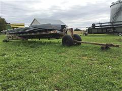 Gleaner 3000 GVL Hugger Corn Head w/Homemade Header Trailer
