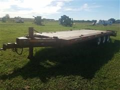 1980 Ditch Witch Tri/A Flatbed Trailer