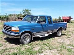 1993 Ford F150 XLT Extended Cab 4WD Pickup