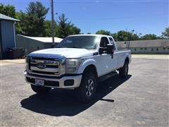 2011 Ford F250 XLT Super Duty 4x4 Extended Cab Pickup