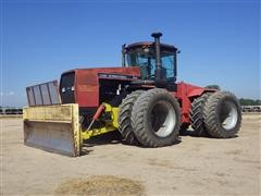1990 Case IH 9180 4WD Articulated Tractor W/Blade