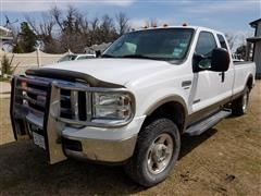 2006 Ford F250 SRW Super Duty 4x4 Extended Cab Pickup