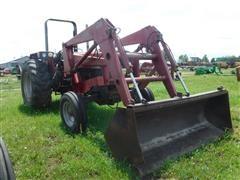 Case IH 885 2WD Tractor W/Loader