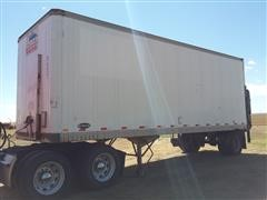 1986 Strick Dry Van Trailer