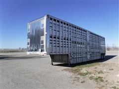 1996 Eby T/A Livestock Trailer