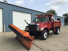 2003 International 7400 S/A Plow Truck