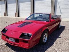 1984 Chevrolet Camaro Z28 Convertible