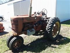 1951 International M 2WD Tractor For Parts