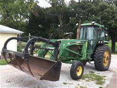1981 John Deere 4240 2WD Tractor W/Loader