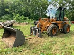 2008 Case 521E Wheel Loader