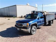2001 GMC 3500 Dually Work Pickup
