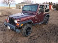 2001 Jeep Wrangler TJ Sport 2 DR Sport Utility