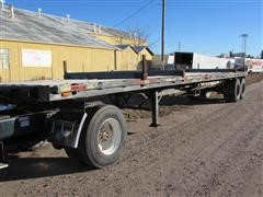 1970 Hobbs FBH-FB40 T/A Flatbed Trailer