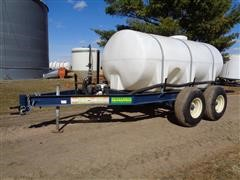 Schaben FC1315 T/A 1300-Gal Liquid Fertilizer Nurse Tank W/Induction System
