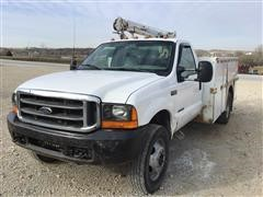 2000 Ford F550 Super Duty Service Truck