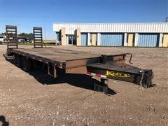 2008 Kaufman T/A Flatbed Trailer