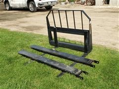 2020 Tomahawk Pallet Forks & Extensions Skid Steer Attachments