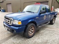 2007 Ford Ranger 4x4 Extended Cab Pickup