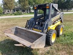 New Holland LS170 Turbo Super Boom Skid Steer