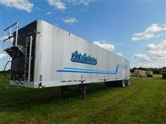 2012 Wilkens 0K2TA22PC0SI Open Top T/A Live Bottom Trailer