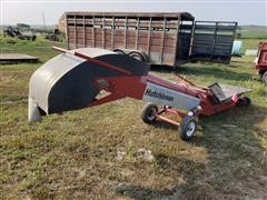 "Hutchinson 10"" Belt Hopper Conveyor"