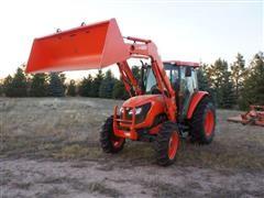 Kubota 8540D MFWD Tractor w/Loader