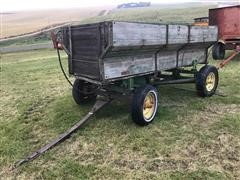 John Deere Wooden Grain Wagon