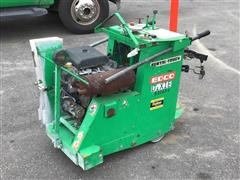 2013 Edco SS2025P Self-Propelled Concrete Cutting Saw