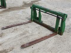 Shop Built Adjustable-Width Pallet Fork