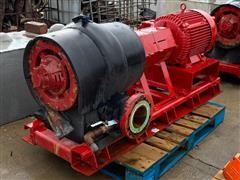 Baldor 50 HP Electric Motor W/ Bell & Gossett Commercial Pump