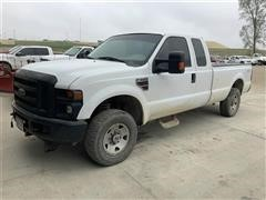 2008 Ford F250XL Super Duty 4x4 Extended Cab Pickup