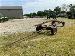 Homemade 20' Header Trailer