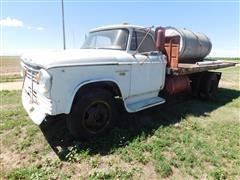 1967 Dodge D500 Flatbed Truck w/Tank