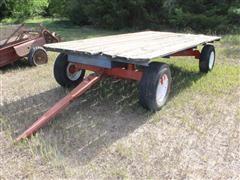 Electric Running Gear Hay Wagon