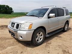 2006 Nissan Armada SE/LE 4 Door Sport Utility Vehicle
