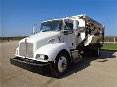 2008 Kenworth T300 S/A Feeder Truck